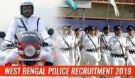 West Bengal Police Recruitment 2019: Job opportunities! Apply via online or offline mode for over 8000 vacancies