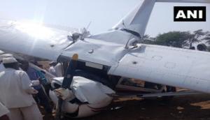 Maharashtra: Carver Aviation's trainee aircraft crashes in Pune's Indapur; pilot injured