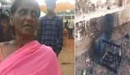 बजरंग दल कार्यकर्ताओं की गुंडागर्दी, बीफ के शक में जला दी गरीब मुस्लिम महिला की दुकान