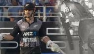 Ind vs NZ, 2nd T20: Even after DRS, umpires failed to find edge; Daryl Mitchell gets out in a funny manner