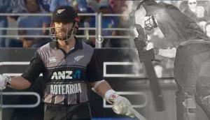 Video: न्यूजीलैंड के नॉटआउट बल्लेबाज को अंपायर ने दे दिया आउट, धोनी और रोहित शर्मा भी रह गए हैरान