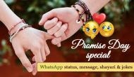Promise Day Special: These best WhatsApp status, shayaris that you can share with your lover, friends and parents