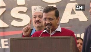 Arvind Kejriwal takes jibe over PM Modi in TDP's protest rally, says, 'As if Narendra Modi is Pakistan's Prime Minister'