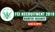 FCI Recruitment 2019: Check out the bumper vacancies released for over various 4,000 posts; know posts details