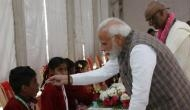 PM Modi left stunned after the reply of a young girl due to his late arrival at Vrindavan; see video