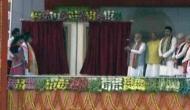 त्रिपुरा: PM मोदी की मौजूदगी में मंत्री ने महिला के साथ की ऐसी हरकत, वीडियो हुआ वायरल