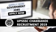 UPSSSC Recruitment 2019: Apply for jobs on over 600 Chakbandi and other posts before closing of registration process