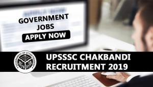 UPSSSC Chakbandi Lekhpal Recruitment 2019: Application process begins today for 1364 posts; here's how to apply