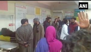 Jammu and Kashmir: At least 10 students injured in a blast at a tuition centre in Kashmir's Pulwama; rushed to hospital