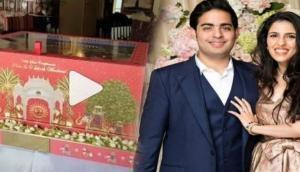आकाश अंबानी की शादी का कार्ड है अद्भुत, इस राजसी शान को देखकर आंखों पर नहीं होगा यकीन, देखें Video