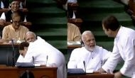 PM Modi takes a dig at Rahul Gandhi after recalling his 'wink' and 'hug' in Parliament and says,'aankhon ki gustakhiyan in the house'