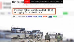 पुलवामा हमला: पाकिस्तान के अखबार की ओछी हरकत, आतंकियों को बताया 'फ्रीडम फाइटर्स'