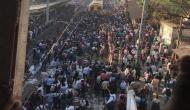 Pulwama Attack: Railway tracks blocked in Mumbai's Nalasopara over protest of terror blast in Kashmir