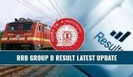 RRB Group D Result: इस दिन जारी हो सकते हैं 'ग्रुप डी' के नतीजे, ऐसे कर सकेंगे चेक
