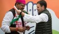 Suspended BJP leader Kirti Azad joins Congress in presence of Rahul Gandhi