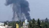 बेंगलुरू एयर शो में सूर्यकिरण के दो एयरक्राफ्ट क्रैश, एक पायलट की मौत