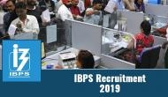 IBPS SO Recruitment 2019: Vacancies out for over 1000 specialist officers posts; read official details