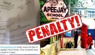 Fee hike: DFRC imposes a fine of Rs 1 lakh on Apeejay School
