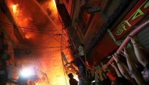 ढाका के केमिकल गोदाम में लगी भयानक आग, 69 लोगों की मौत