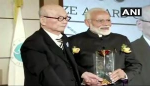 PM Modi conferred with Seoul Peace Prize for global peace; says, 'this belongs to people of India'