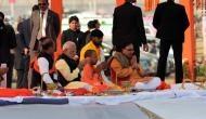 पीएम मोदी पहुंचे कुंभ, लगाई संगम में डुबकी और किया पूजा-पाठ, अब करेंगे जनसभा को संबोधित
