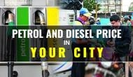 Petrol and Diesel Today rate: Know the revised fuel price on the third day of this week