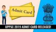 UPPSC 2019 admit card released! Download your Assistant Registrar exam hall ticket now at uppsc.up.nic.in
