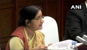 पीओके में भारतीय वायुसेना की कार्रवाई पर चीन में क्या बोलीं विदेश मंत्री सुषमा स्वराज