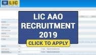 LIC AAO 2019 Notification 2019: Vacancies on over 500 posts release; application process starts