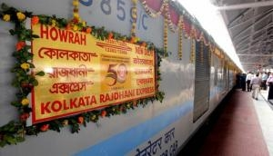 Howrah-New Delhi Rajdhani Express turns 50, passengers get special treatmen