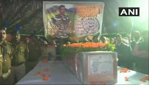 Mortal remains of CRPF personnel killed in Kupwara encounter reaches his hometown in Ghazipur