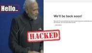 BJP website hacked, feature PM Modi's memes with inappropriate language; goes offline