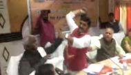 BJP सांसद ने अपने ही विधायक की जूते से की पिटाई, वीडियो वायरल