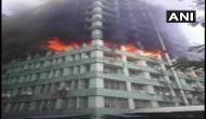 दिल्ली के CGO कॉम्प्लेक्स में लगी आग, बिल्डिंग में है एयर फोर्स और वन विभाग के कई ऑफिस