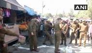 जम्मू-कश्मीर: बस स्टैंड पर भयंकर धमाका, सुरक्षाबलों ने पूरे इलाके को घेरा
