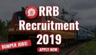 RRB Group D Recruitment 2019: RRC releases detailed notification for level 1; application link activated