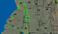 विमान उड़ाने से परेशान हो गया पायलट तो आसमान में लिख दी ये बात
