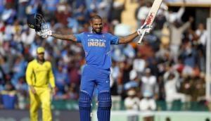 Ind vs Aus, 4th ODI: With Shikhar Dhawan's 16th century, team India sets 359 runs target for Aussies; scorecard inside