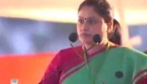 Congress leader Vijaya Shanti calls PM Modi 'terrorist' at Rahul Gandhi's rally