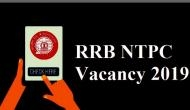 RRB NTPC Recruitment 2019: Few days left for online registration; here to apply for 1.3 lakh vacancies