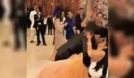 आकाश अंबानी ने सबके सामने पत्नी श्लोका मेहता को किया Kiss.. और वायरल हो गई वीडियो