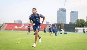 Hardik Pandya joins Mumbai Indians for pre-season camp after 'back stiff' injury