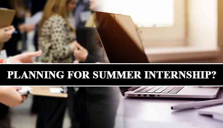 Planning for paid summer internship? These big companies are