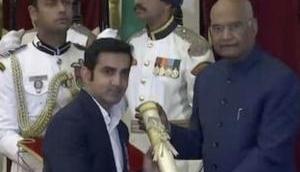 Gautam Gambhir, Sunil Chhetri among others to receive India's fourth-highest civilian award