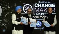Ex PM Manmohan Singh presents award to Arun Jaitley for enacting GST, BJP takes a jibe at Rahul Gandhi