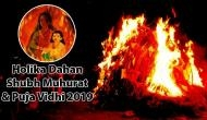 Holika Dahan Shubh Muhurat & Puja Vidhi 2019: Know the exact time to perform Holi puja with its significance