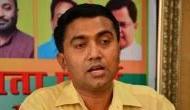 Goa CM Pramod Sawant asks escort vehicle personnel to help clear traffic jam