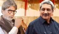 पर्रिकर के निधन की खबर सुनते ही अमिताभ बच्चन के झलक पड़े आंसू, बोले- देश ने जेंटलमैन खो दिया