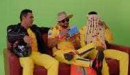 MS Dhoni and gang all ready to light up IPL stage; Can you guess the third person in sehra?