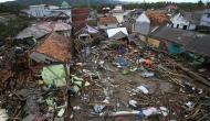 इंडोनेशिया में भीषण बाढ़ ने मचाई तबाही, 77 लोगों की मौत 4000 से ज्यादा लोगों की बचाई गई जान